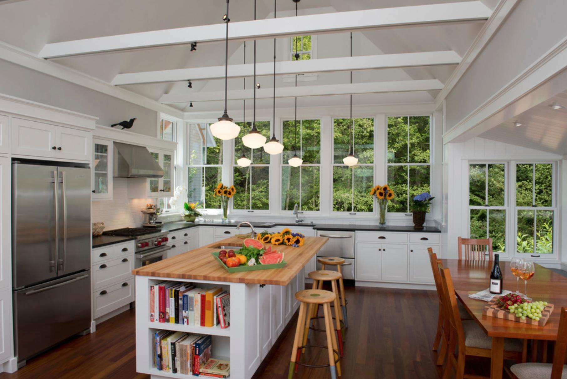 Cozinha Rustica E Moderna Modelo Rstico Cozinha Americana