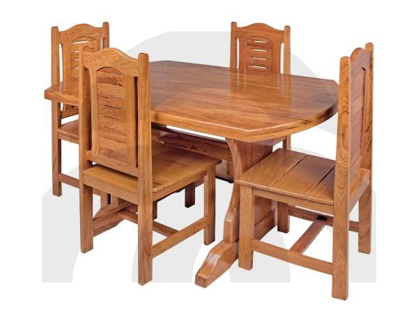 Mesa com Cadeiras Castanhal