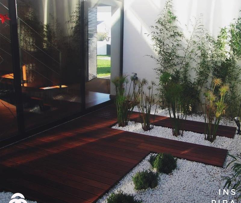 Jardins internos : uma opção para seu ambiente rústico