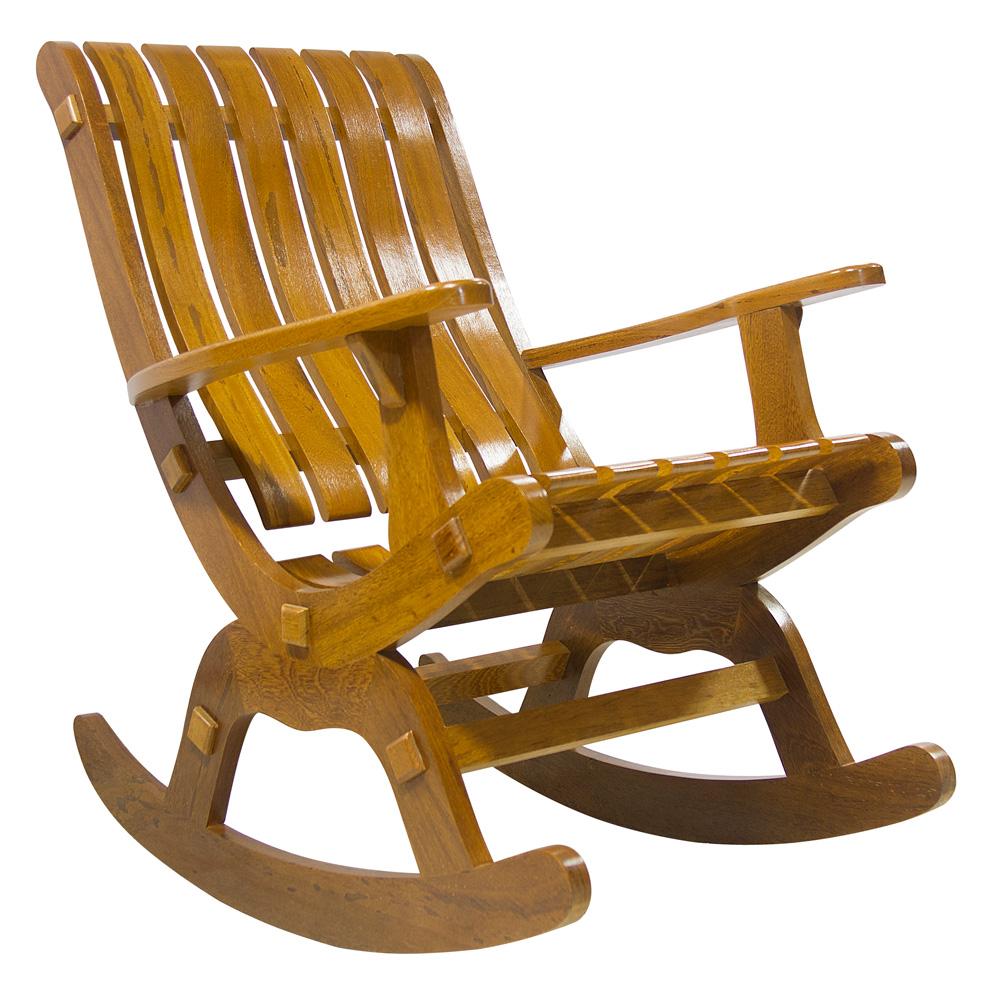 O aconchego de uma cadeira de balanço é bom, não é?